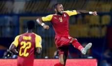 جوردان أيو  رجل مباراة غانا وبنين
