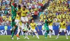 ابرز احصاءات مباراة كولومبيا امام السنغال