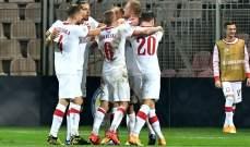 ارقام واحصاءات بعد مباراة البوسنة وبولندا