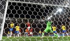 ابرز الاحصاءات بعد تعادل البرازيل وسويسرا