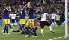 """كيف قيمت """"بي بي سي"""" أداء لاعبي مباراة ألمانيا والسويد؟"""