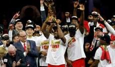 تفاصيل تتويج تورونتو رابتورز بطلا لدوري كرة السلة الأميركي للمحترفين