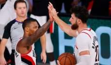 NBA: بورتلاند وميمفيس يتنافسان على المركز الاخير في النهائيات غربياً