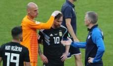 تشافي : ميسي ليس  بحاجة للفوز بكأس العالم لاثبات  وجوده