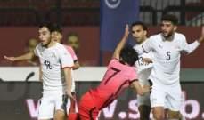 التعادل السلبي يحسم مواجهة مصر الاولمبي امام نظيره الكوري الجنوبي