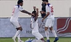 كأس الخليج العربي: الشارقة يكتسح عجمان وبني ياس يتعادل مع الوحدة