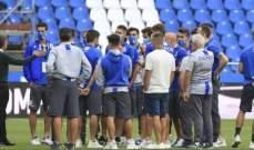 ديبورتيفو لا كورونيا الى الدرجة الثالثة رغم تاجيل مباراته