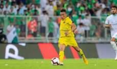البرازيلي جوناثان يعزز صفوف الفجيرة الإماراتي