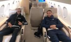 ثنائي اتحاد جدة المغربيان يصلان الرياض بطائرة خاصة