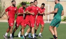 منتخب لبنان لكرة القدم وصل إلى عمّان لخوض وديتين أمام الأردن وعُمان