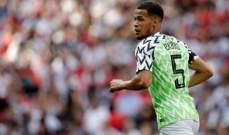 قائد نيجيريا : كنا محظوظين بتسجيل هدف مبكر امام الفراعنة
