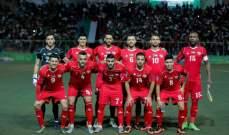 منتخب فلسطين يختتم استعدادته لكأس آسيا بخسارة معنوية