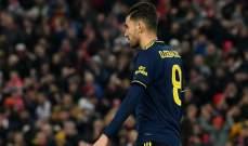 سيبايوس يعتذر عن اهداره لركلة الجزاء امام ليفربول