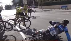 الرياح تسقط دراجين في سباق اسبانيا