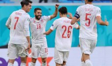 أمم اوروبا 2020: اسبانيا الى نصف النهائي بتخطيها عقبة سويسرا بضربات الترجيح