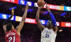 NBA PLAYOFFS: فيلادلفيا الى نصف النهائي وبوسطن يتقدم 3 - 2 على ميلووكي