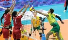 استراليا تواجه ايران في نهائي بطولة آسيا للكرة الطائرة