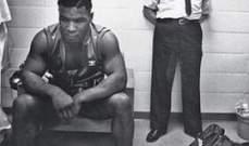 مايك تايسون قبل مباراته الأولى