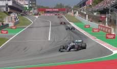 ترتيب السائقين العشرة بعد انتهاء الجولة الخامسة من بطولة العالم للفورمولا وان