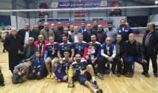 بطولة لبنان للدرجة الثالثة في الكرة الطائرة: اللقب لشحيم وبلاط وصيفه