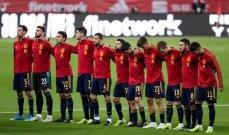 لاعبو منتخب اسبانيا سيتلقون اللقاح ضد فيروس كورونا
