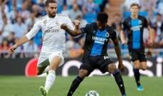 اليويفا يفتح تحقيق في مباراة ريال مدريد وكلوب بروج