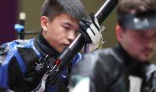طوكيو 2020: تشانغونغ يحطم رقم قياسي ويهدي الصيني ذهبية الرماية من البندقية