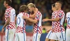 نجوم كرواتيا حاضرون في قائمة المنتخب الأولية