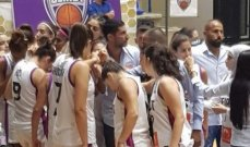 سيدات بيروت يتوجن بلقب بطولة لبنان لكرة السلة للمرة الاولى