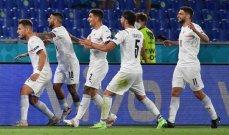 أمم اوروبا 2020: ايطاليا تدشن البطولة بإكتساحها تركيا بثلاثية نظيفة