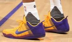 لاعبو الـ NBA يرتدون الاحذية الملونة للمرة الاولى منذ زمن