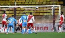 إحصاءات من مباراة موناكو - مارسيليا