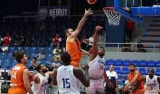 بطولة الاندية العربية في كرة السلة :نتائج اليوم الثالث وبيروت يواجه الاتحاد السكندري مساء الجمعة