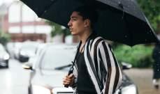 بيليرين تحت المطر