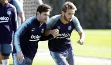 برشلونة يفتح الباب امام رحيل نجمه الشاب