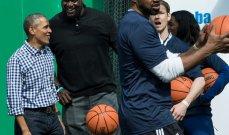 """أوباما شريكاً لـ """"NBA"""" إفريقيا"""