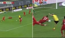 خطأ حكم مباراة بايرن ودورتموند غيّر نتيجة المباراة