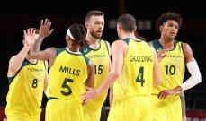 طوكيو 2020: المنتخب الاسترالي يواجه نظيره الاميركي في نصف نهائي كرة السلة