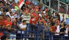الاتحاد العربي: مباراة النجمة اللبناني والاهلي المصري في المركز الثالث