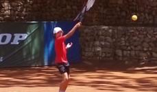 فوز أوليفر عبيد واميل نادر في دورة نادي برمانا في التنس
