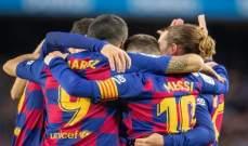 برشلونة يهدد لاعبيه بالقانون للإلتزام بقراره