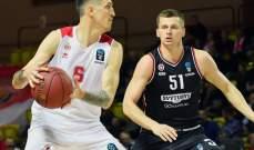 بطولة يوروكاب لكرة السلة : فوز زينيت وموناكو