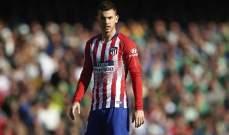 اتلتيكو مدريد يكشف عن اصابة هيرنانديز