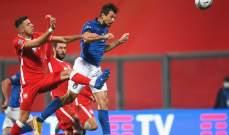 اتشيربي: نشعر بالسعادة بعد الأداء الذي قدّمناه امام بولندا