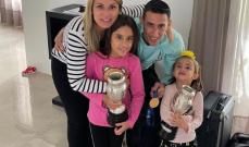 زوجة دي ماريا تكشف اسم النادي حيث سيعتزل كرة القدم