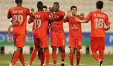 الدحيل يكتسح السيلية في طريقه الى نصف نهائي كأس امير قطر
