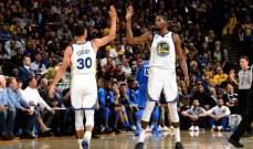 NBA: غولدن ستايت واريرز يحرز فوزه الثاني وكليفلاند يسقط  امام مينسوتا