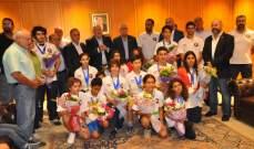 بعثة المبارزة عادت من البطولة العربية للناشئين حاصدة 17 ميدالية ملونة
