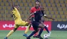 الدوري الاماراتي: إلغاء هدف الفوز في تعادل الوصل والوحدة