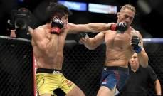 اصابة قاسية لبرايس مع اعادة انطلاق مباريات UFC